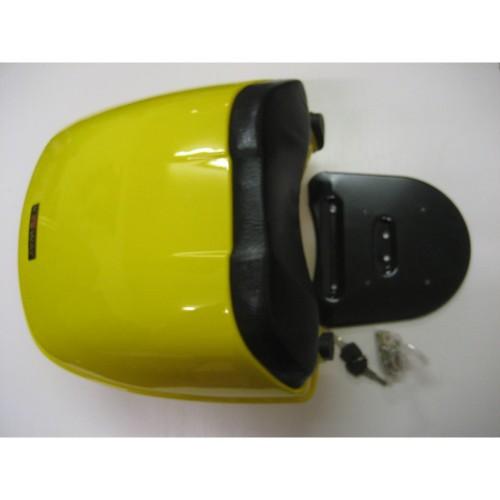 topcase koffer hinten f r roller mofa moped gelb. Black Bedroom Furniture Sets. Home Design Ideas